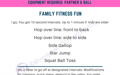 At Home Workout #2: Family Fitness Fun