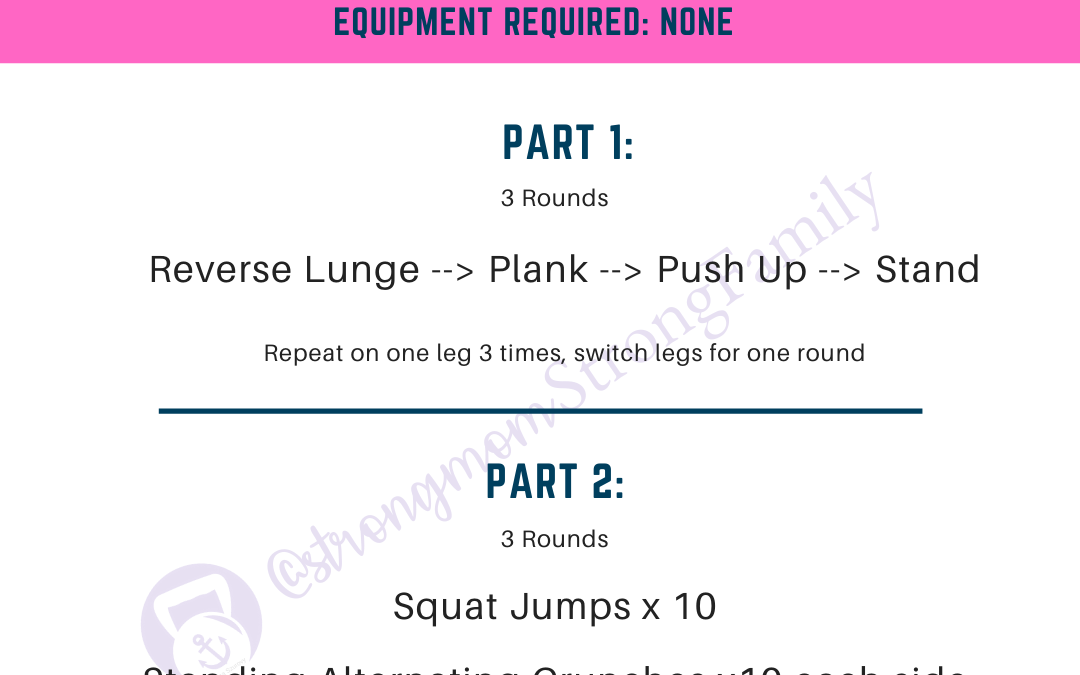 At Home Workout #4