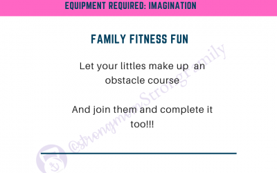 At Home Workout #5: Family Fitness Fun